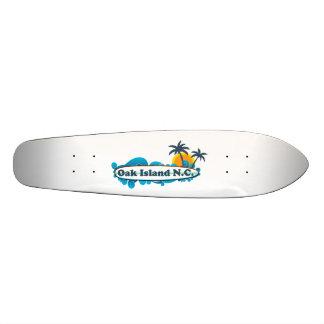 Oak Island. 21.3 Cm Mini Skateboard Deck