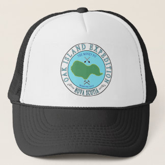 Oak Island Money Pit Expedition Trucker Hat