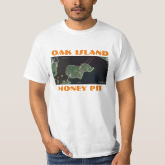 OAK ISLAND MONEY PIT T-SHIRT