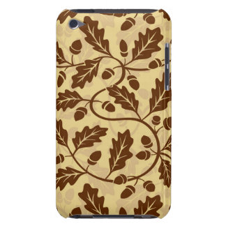 Oak leaf acorn background barely there iPod case