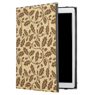 "Oak leaf acorn background iPad pro 12.9"" case"