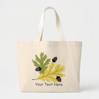 Oak Leaves and Acorns Tote Bag