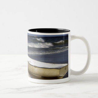 Oak Street Beach, Beach, Lakeshore, Lake Two-Tone Coffee Mug