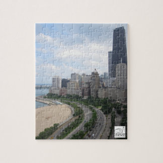 Oak Street Beach Chicago Puzzle