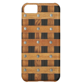 Oak Strips iPhone 5C Cases