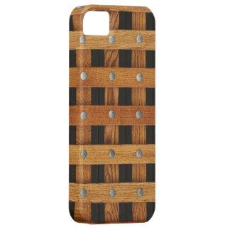Oak Strips iPhone 5 Case