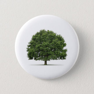 Oak Tree 6 Cm Round Badge