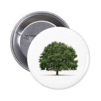 Oak Tree 6 Cm Round Badge