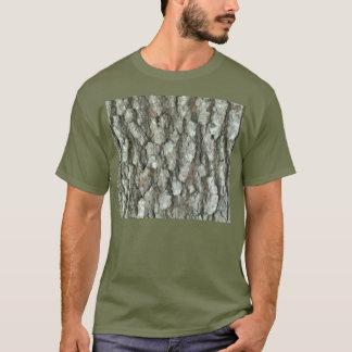 Oak Tree Bark Real Wood Camo Nature Camouflage T-Shirt