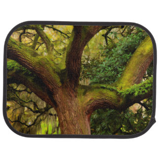 Oak tree car mat