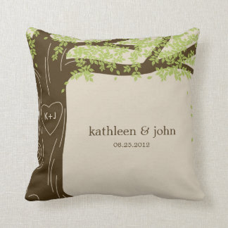 Oak Tree Custom Throw Pillow
