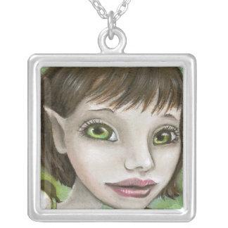 oak tree elf pendant