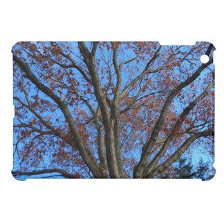 Oak Tree in a Blue Autumn Sky - iPad Mini Cover