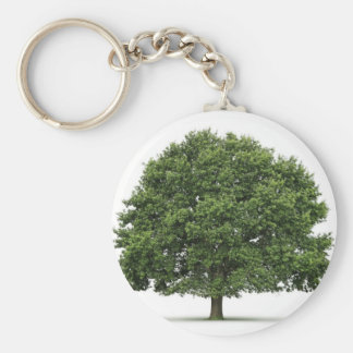 Oak Tree Key Ring