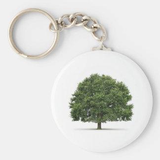 Oak Tree Key Ring