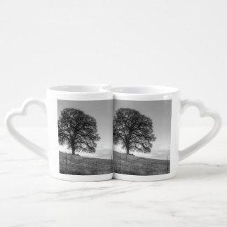 Oak Tree On A Hill Lovers Mug