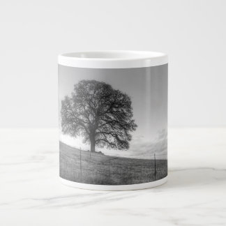 Oak Tree On A Hill Jumbo Mug