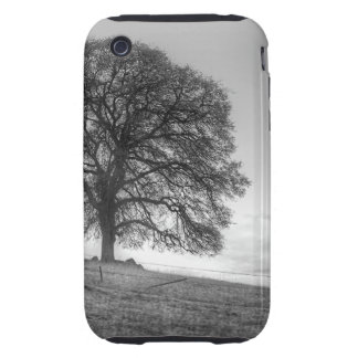 Oak Tree On A Hill Tough iPhone 3 Covers