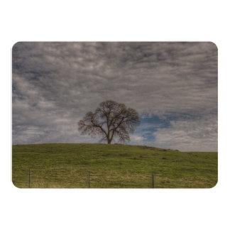 Oak Tree Solitaire Custom Invites