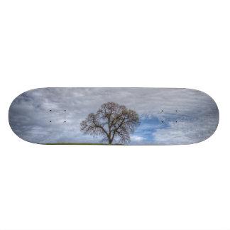 Oak Tree Solitaire Custom Skateboard