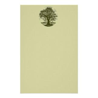 Oak Tree Stationary Customised Stationery