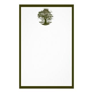 Oak Tree Stationary Stationery
