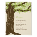 Oak Tree Wedding Reception Card Personalized Announcements