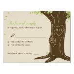 Oak Tree Wedding RSVP / Response Card