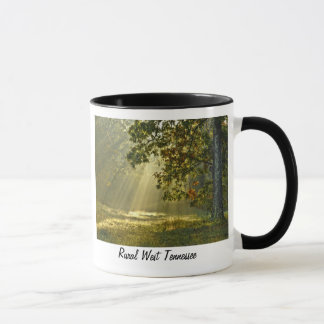 Oak Tree with Morning Sunbeams Mug