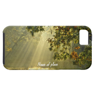 Oak Tree with Morning Sunbeams Tough iPhone 5 Case