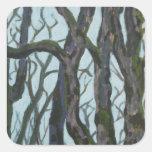 Oak Trees Sticker