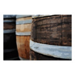 Oak Wine Barrel Poster