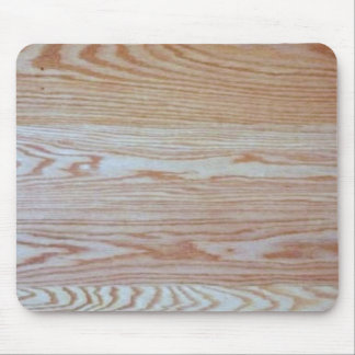 Oak Wood Effect Mousepad