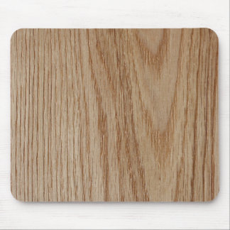 Oak Wood Grain Look Mouse Mat