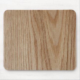 Oak Wood Grain Look Mouse Pad