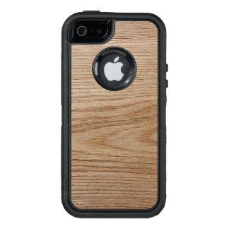 Oak Wood Grain Look OtterBox iPhone 5/5s/SE Case