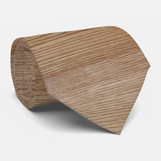 Oak Wood Grain Look Tie