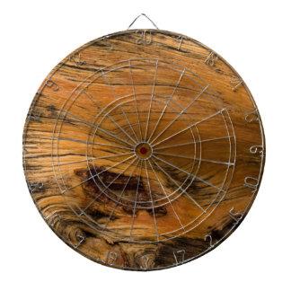 Oak Wood Metal Dartboard