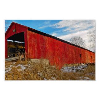 Oakalla Covered Bridge Photograph