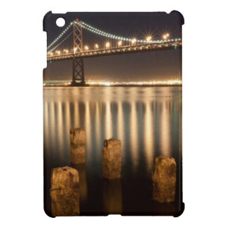 Oakland Bay Bridge night reflections. Cover For The iPad Mini