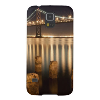 Oakland Bay Bridge night reflections. Galaxy S5 Cover