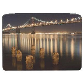 Oakland Bay Bridge night reflections. iPad Air Cover