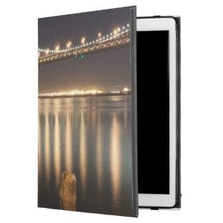 "Oakland Bay Bridge night reflections. iPad Pro 12.9"" Case"
