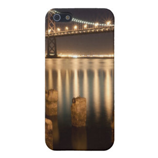 Oakland Bay Bridge night reflections. iPhone 5/5S Cover