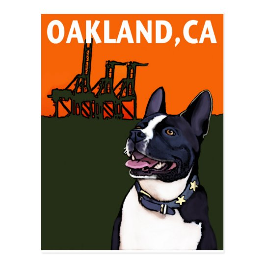 OAKLAND, CA Mutt - Harry Postcard