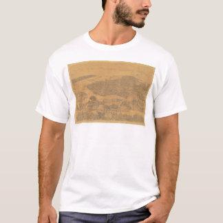 Oakland, CA. Panoramic Map 1881 (1231A) T-Shirt