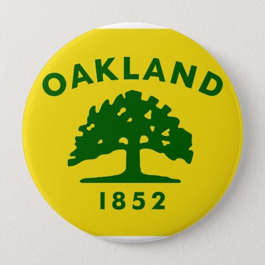 Oakland, California 10 Cm Round Badge