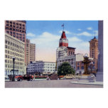 Oakland California 14th and Broadway Print