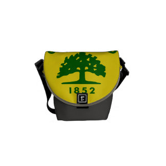 Oakland, California Flag Courier Bag
