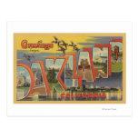 Oakland, California - Large Letter Scenes Postcard